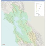Bay Area Topography